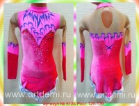 Dress (Suit) for figure ice skating The article № 5124 Sizes: Growth of 126-136 centimeters - www.artdemi.ru