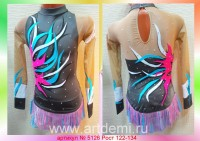Dress (Suit) for figure ice skating The article № 5126 Sizes: Growth of 122-134 centimeters - www.artdemi.ru