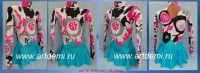 Dress (Suit) for figure ice skating The art № 4806 Sizes: Growth of 115-120 centimeters - www.artdemi.ru