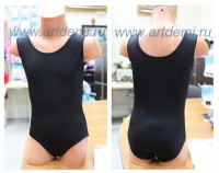 gymnastic leotard without sleeves  - www.artdemi.ru